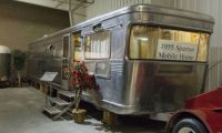 1955 Spartan Imperial Mansion Mobile Home.
