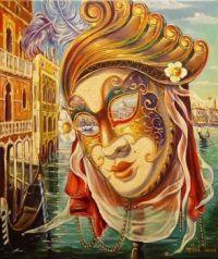 Venice Carnaval Mask