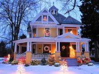 Yellow Victorian Christmas