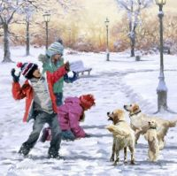 'Fun In The Snow' by The Macneil Studio