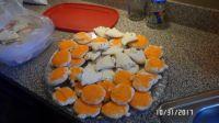 Ghosts & Pumpkin Cookies