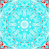 081616 Turq kaleidoscopePainter