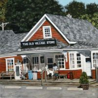 The Old Village Store by Jeffrey Dale Starr