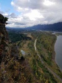 From the top of Beacon Rock