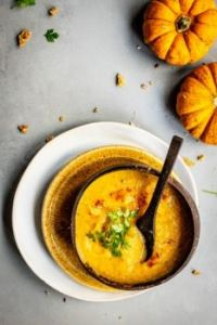 Pumpkin Soup to Warm the Soul