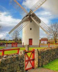 ..irish wind mill