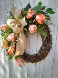 Coral wreath