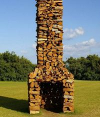 Firewood fireplace