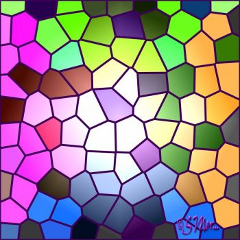 Stained Glass Mosaic.... (For A Large Window)...