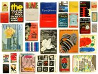 A Collage of bookcovers
