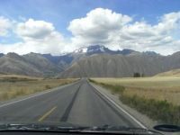 Driving in the Andes, Peru