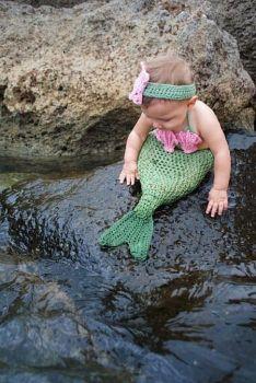 A beginning mermaid