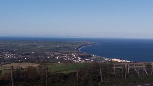 A bright autumn day on the Isle of Man