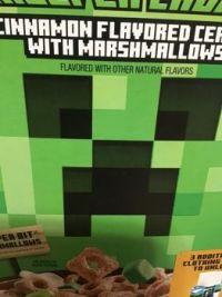 Minecraft cereal
