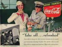 The First Coca Coca Ad - 1939