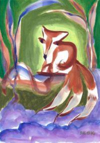 3 tail fox