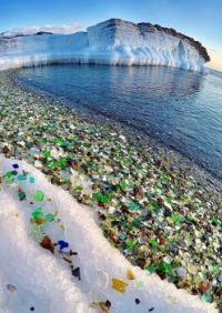 Glass Beach, Russia