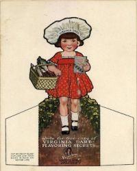 Vintage Advertising Paper Doll  ~ Virginia Dare
