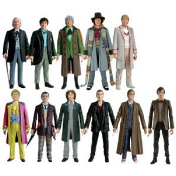 doctor who action figures the doctor(s)