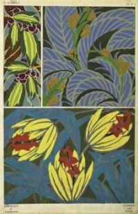 E.A. Seguy - Bouquets et frondaisons. 60 motifs en couleur, 1924