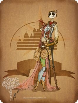 Steam Punk Jack and Sally