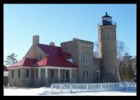 Machinaw Miichigan Lighthouse