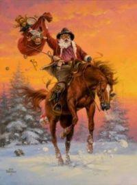 2018 Cowboy Santa