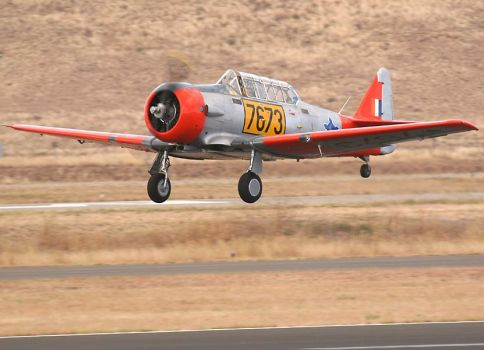 Saaf T6 Harvard In South African Airforce Colours