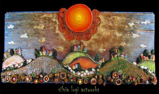 Fiori Di Campo Sotto Il Sole (Wildflowers In The Sun) - Silvia Logi, Artist