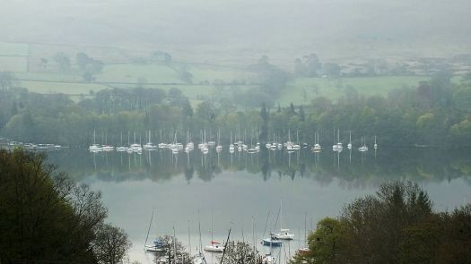 A Still Misty Morning, at Ulswater Lake District