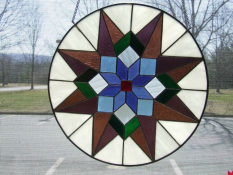 One of my early kalidescope stained glass