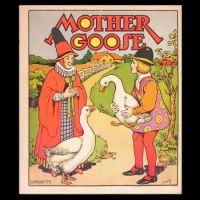 Beautiful Mother Goose Book Cover 1930s