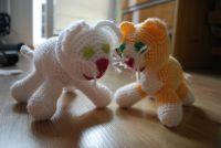 crochet kittens / háčkovaná koťata
