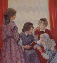 Little Women - illus. by Jesse Wilcox Smith - large size