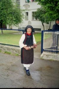 Catholic folk costume, Kraljeva Sutjeska, Bosnia