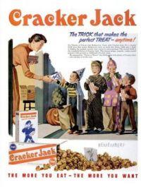 Vintage Halloween - Cracker Jack advertisement