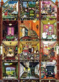 Higgledy Piggledy House by Colin Thompson