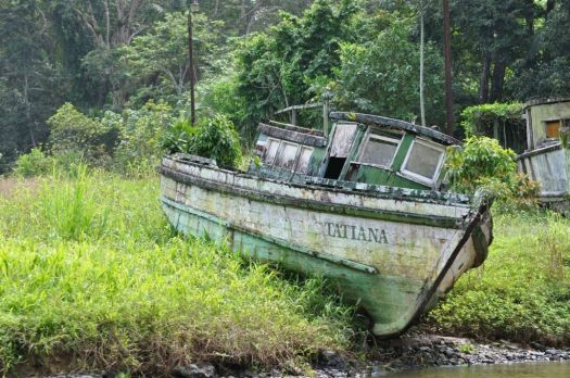 Old Boat, Costa Rica - photog unknown