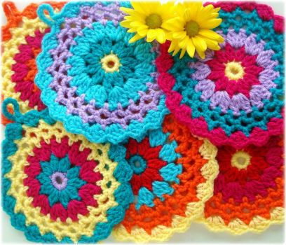 potholders by Lidia Luz, flickr
