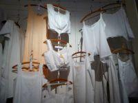 The linen Museum Aalten.   Oldfashioned underwear and nightware