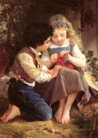 Emile Munier - A Special Moment _1874_