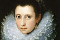 Anne Boleyn In An Idealized Portrait Made After Her Death.