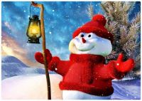Frosty-the-Snowman Welcomes You