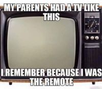 My parents had a TV like this
