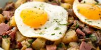 Corned Beef Hash w/Fried Eggs