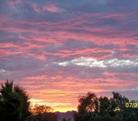 Arizona sunset 1