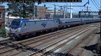 Amtrak-93, electric engine #610 60-pc