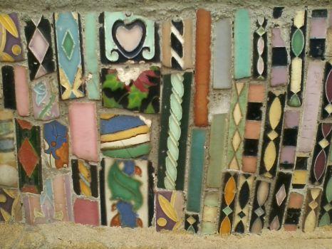Watts Towers mosaic