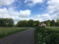 Weilanden en weggetje, Santpoort-Noord