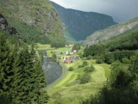 Old Flam Village, Norway